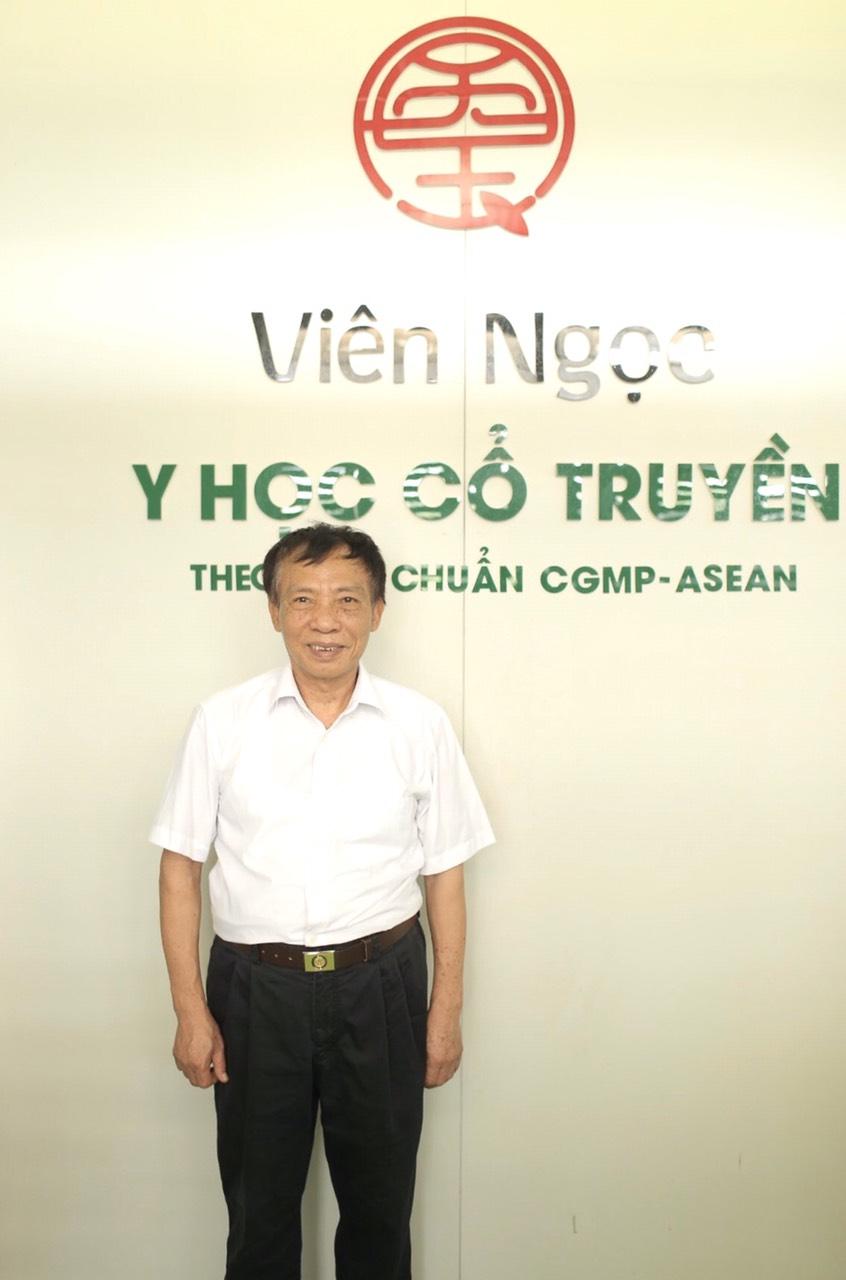 Giám đốc điều hành Hán Trung Hòa Thầy thuốc ưu tú nguyên Giám đốc Trung tâm kiểm nghiệm Thuốc, Mỹ phẩm, Thực phẩm Tỉnh Phú thọ