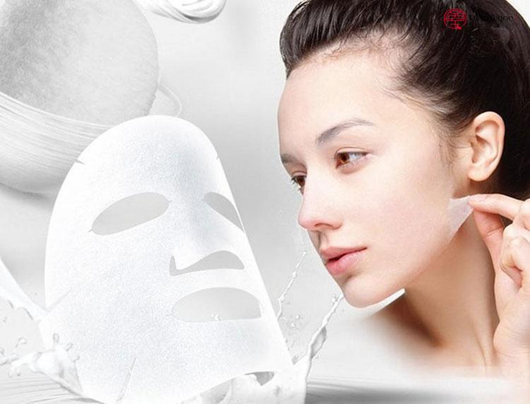 Gia công mặt nạ giấy chống lão hóa 1