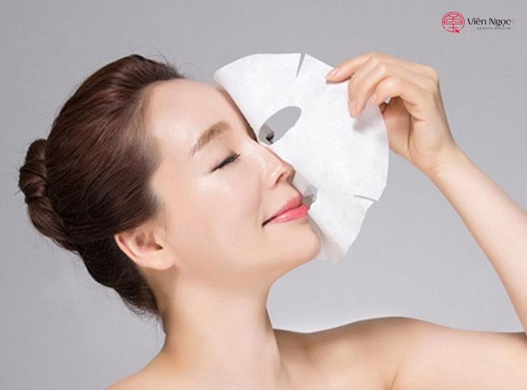 Gia công mặt nạ giấy chống lão hóa 2
